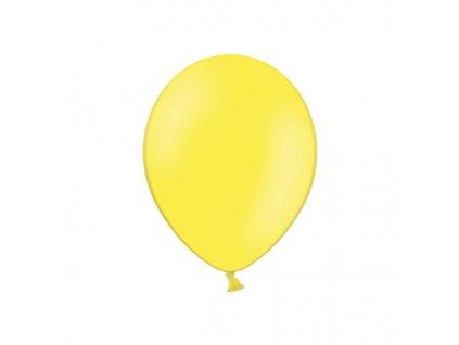 balonek zluty pastel 23cm CB9P 084 01