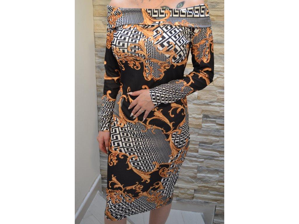 Dámské šaty TATU 1112 / černé
