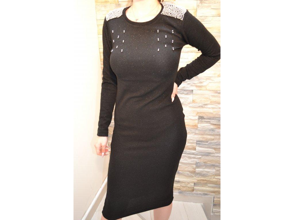 Dámské šaty TATU 1142 / černé