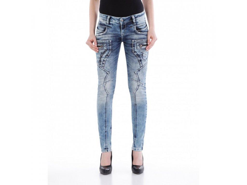 Dámské jeans CIPO & BAXX WD 200B