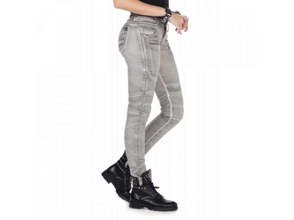 Dámské jeans CIPO & BAXX WD 340 Grey