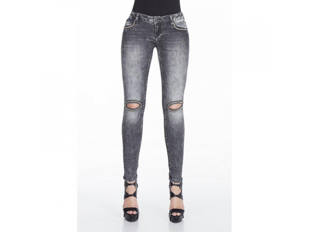 Dámské jeans CIPO & BAXX WD 307