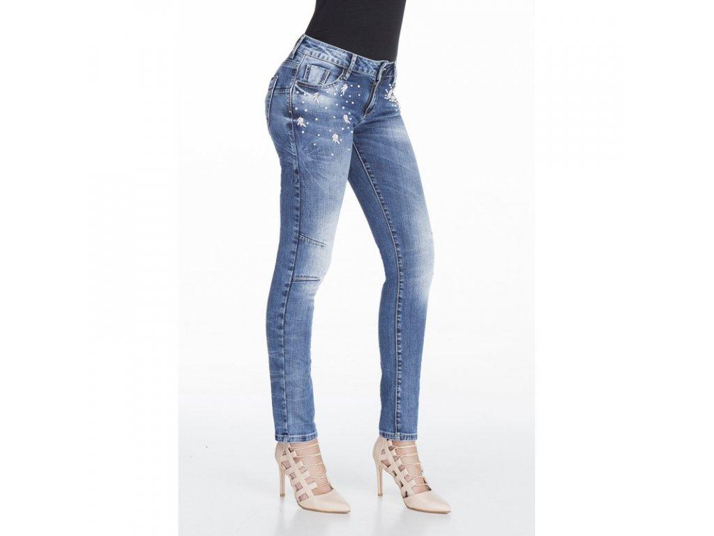 Dámské jeans CIPO & BAXX WD 309