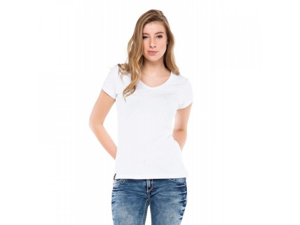 Dámské tričko CIPO & BAXX WT 250 White