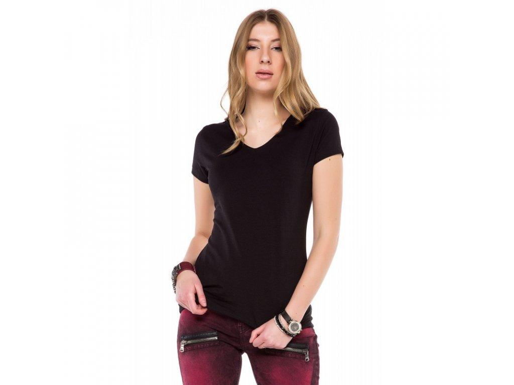 Dámské tričko CIPO & BAXX WT 250 Black