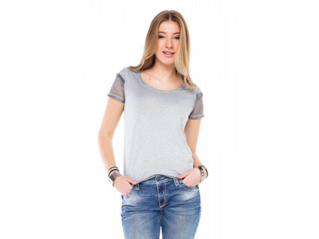 Dámské tričko CIPO & BAXX WT 228 Grey