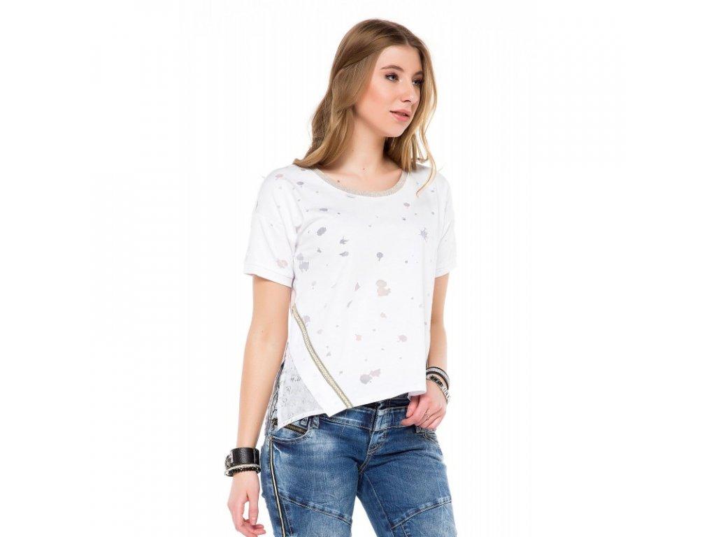 Dámské tričko CIPO & BAXX WT 246 White