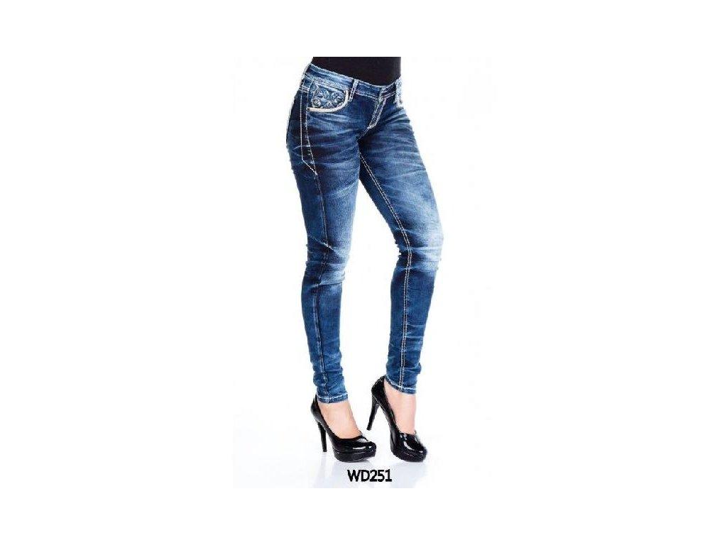 Dámské jeans CIPO & BAXX WD 251