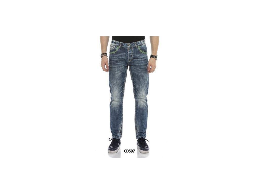 Pánské jeans CIPO & BAXX CD 597