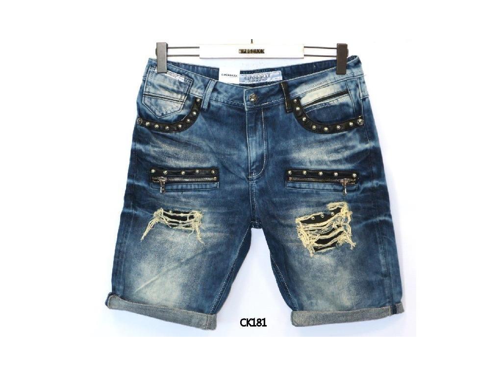 Pánské capri kalhoty CIPO & BAXX CK 181