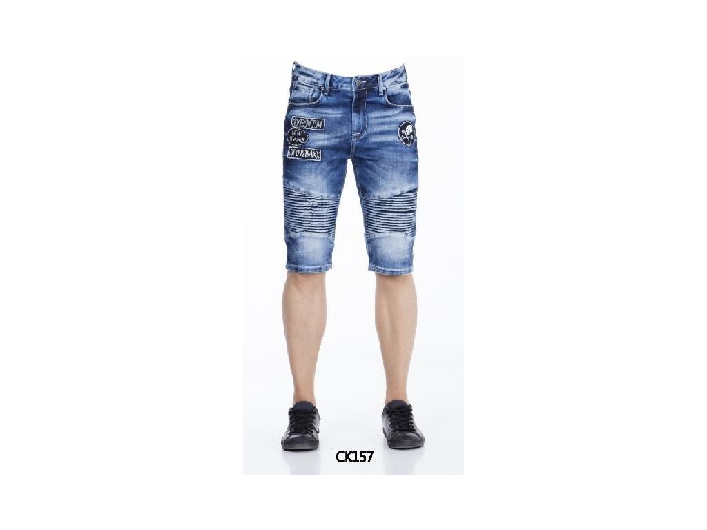 Pánské capri kalhoty CIPO & BAXX CK 157