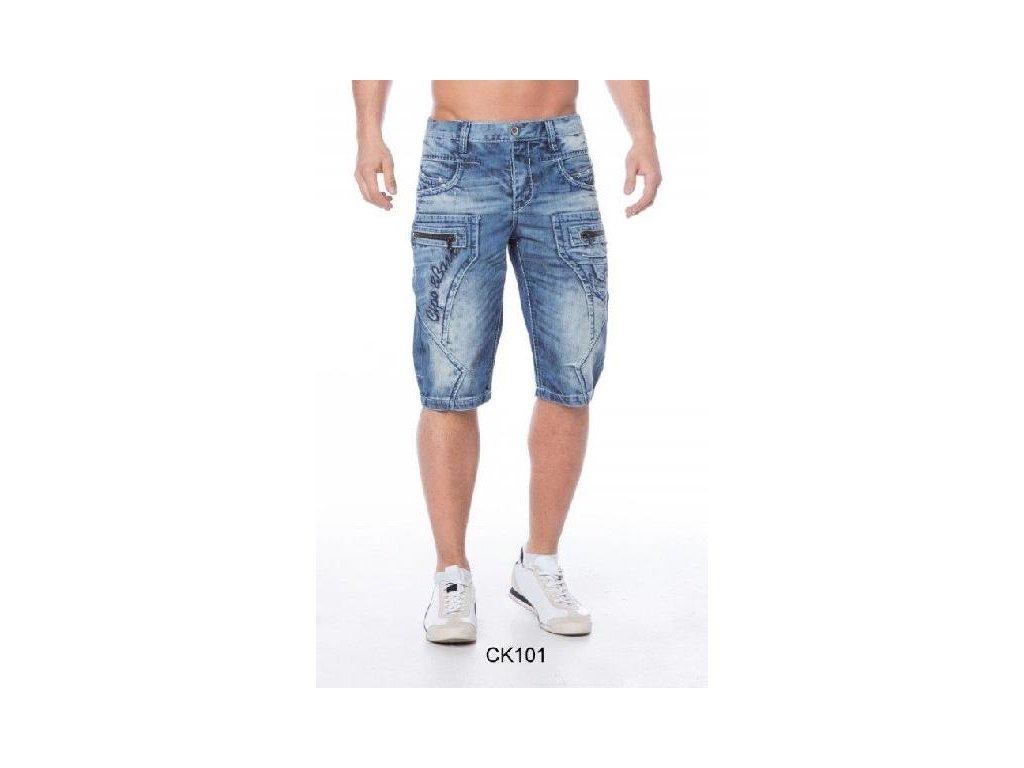 Pánské capri kalhoty CIPO & BAXX CK 101
