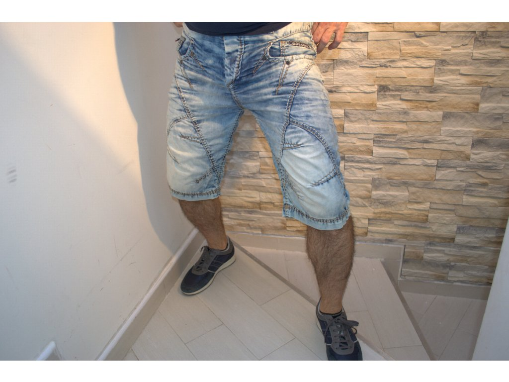 Pánské capri kalhoty CIPO & BAXX C-0090