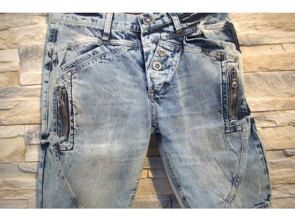 Pánské capri kalhoty CIPO & BAXX C-0097