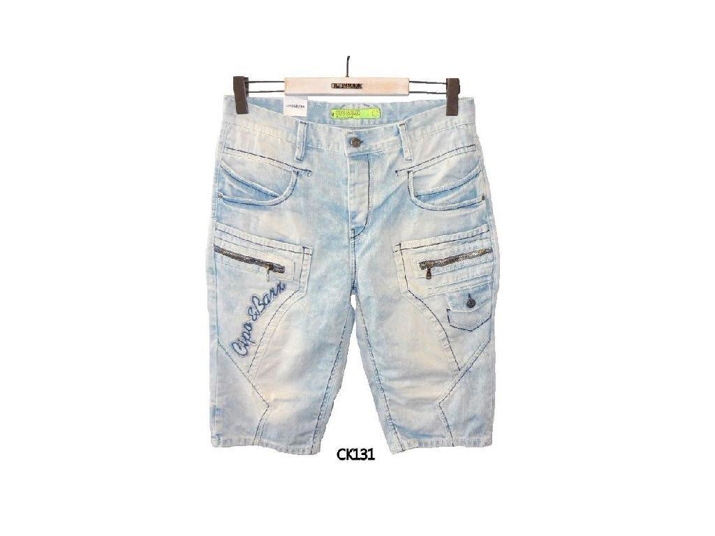 Pánské capri kalhoty CIPO & BAXX CK 131