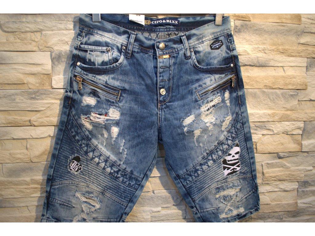 Pánské capri kalhoty CIPO & BAXX CK 152