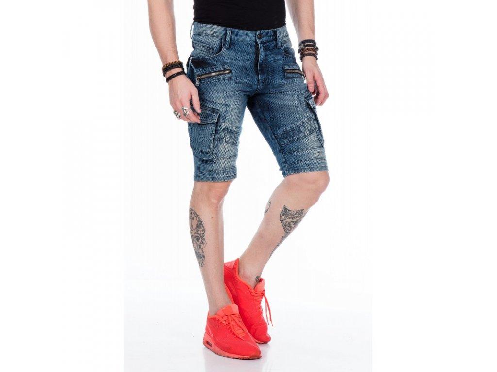Pánské capri kalhoty CIPO & BAXX CK 178