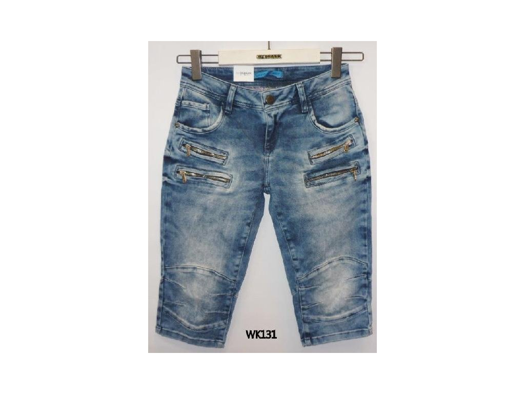 Dámské capri kalhoty CIPO & BAXX WK 131