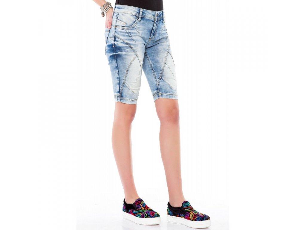 Dámské capri kalhoty CIPO & BAXX WK 145