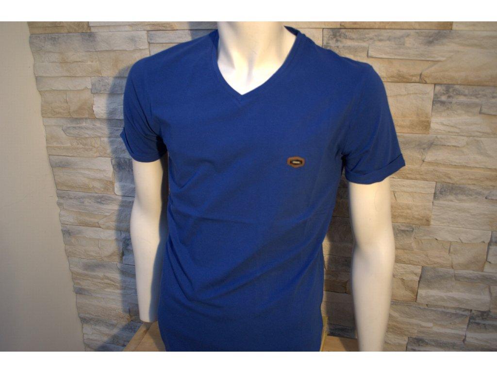 Pánské tričko CIPO & BAXX CT 334 Blue