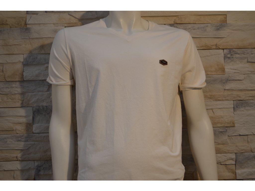 Pánské tričko CIPO & BAXX CT 334 Ecru