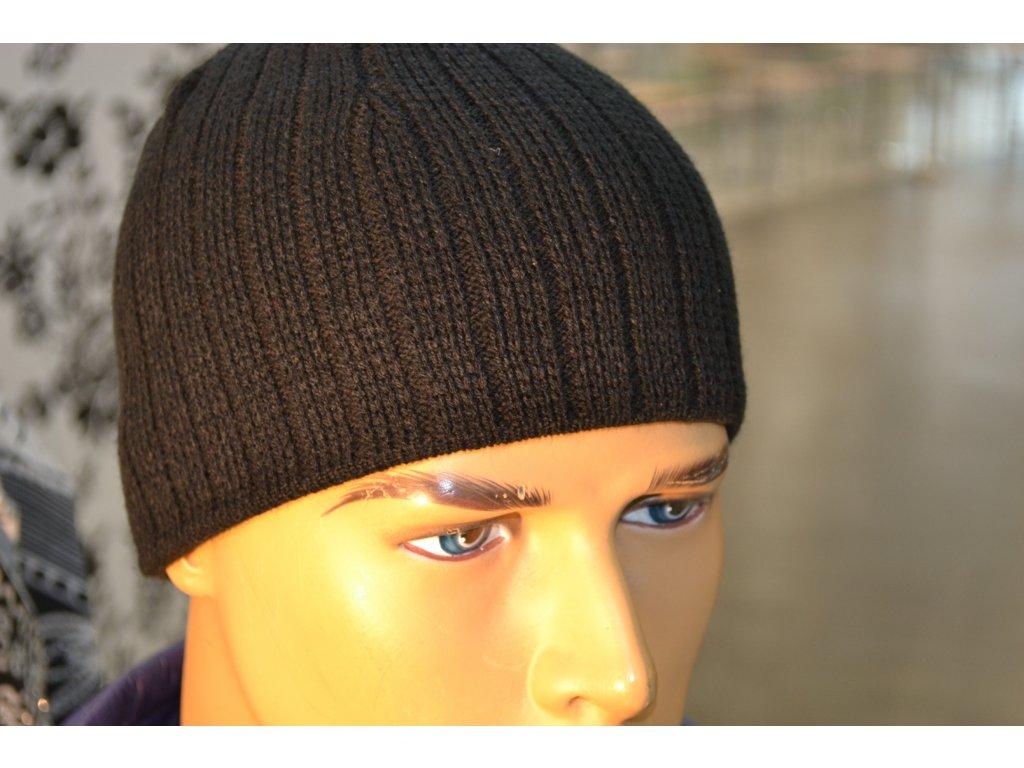 Pánská čepice klasik černá