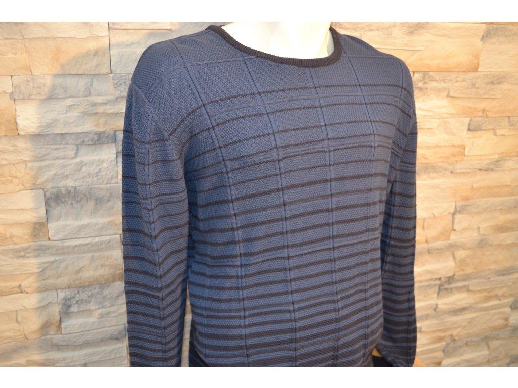 Pánský svetr SEMCO 18021 Blue