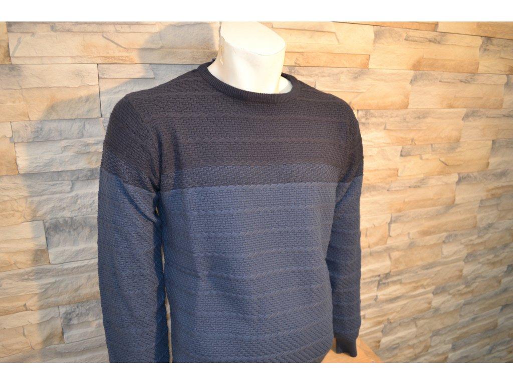 Pánský svetr SEMCO 18006 Blue
