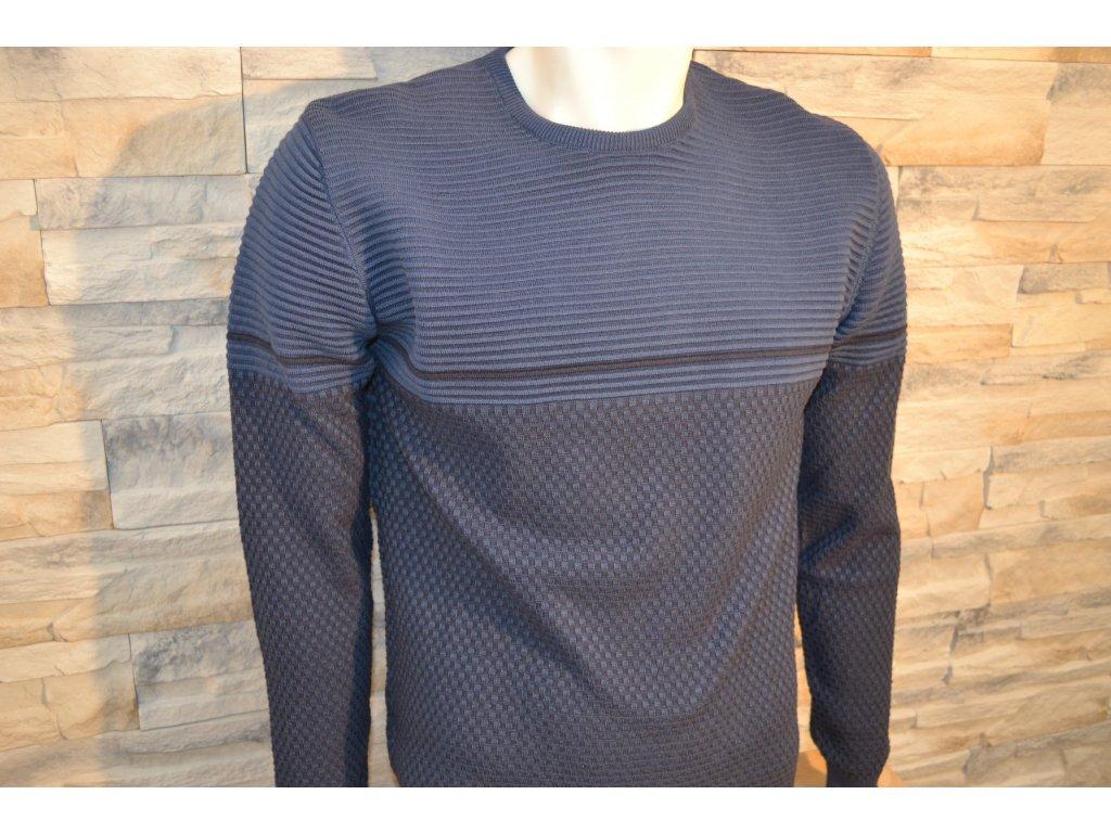 Pánský svetr SEMCO 18015 Blue