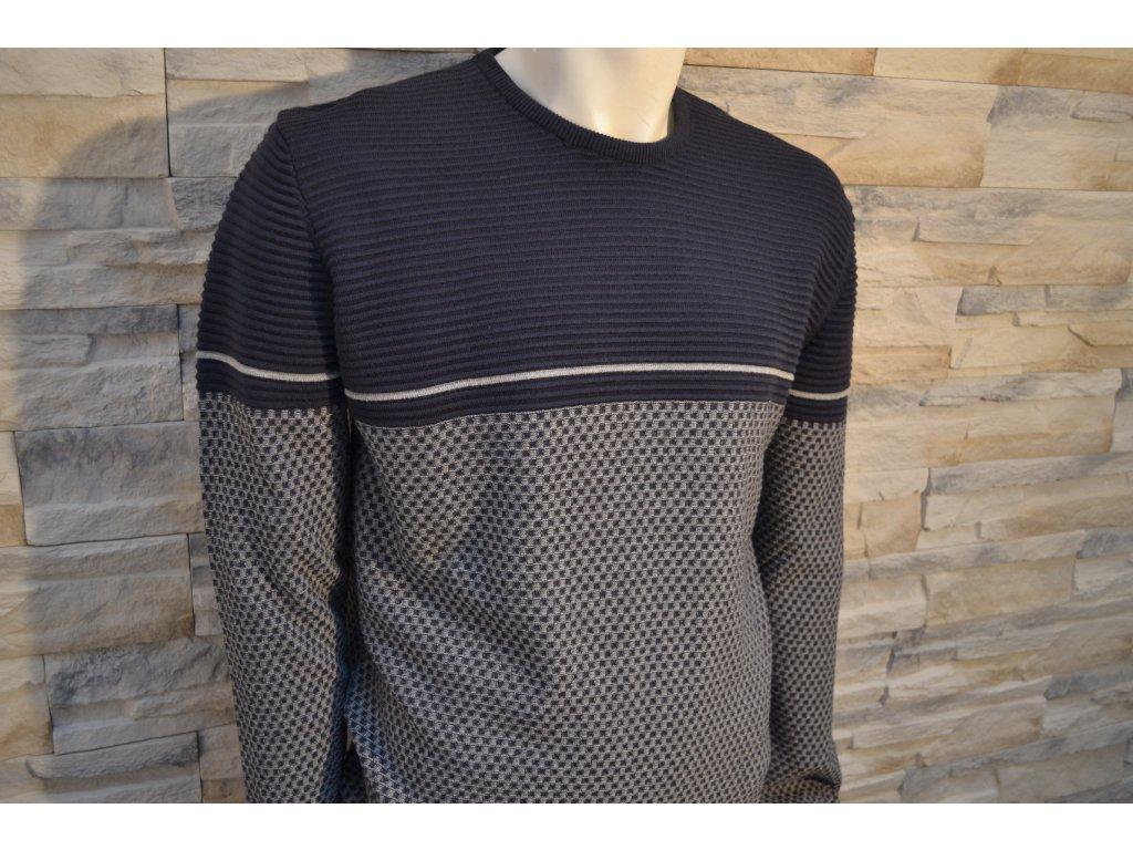 Pánský svetr SEMCO 18015 Blue/Grey