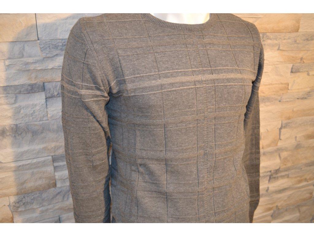 Pánský svetr SEMCO 18014 Grey