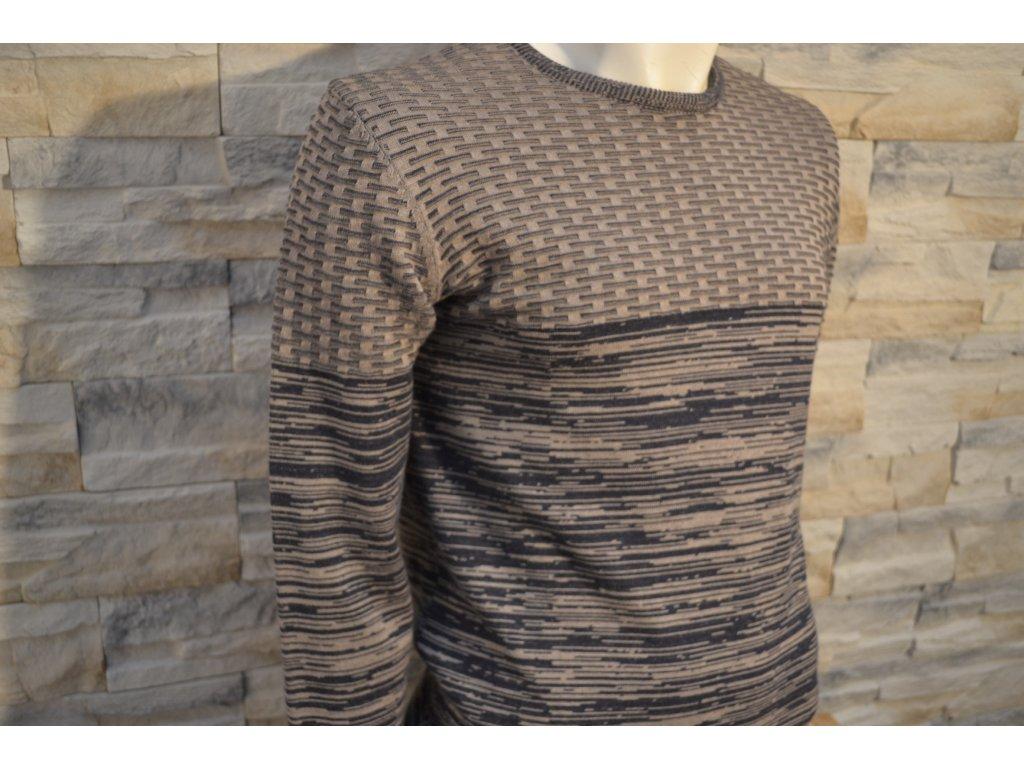 Pánský svetr SEMCO 18018 Brown