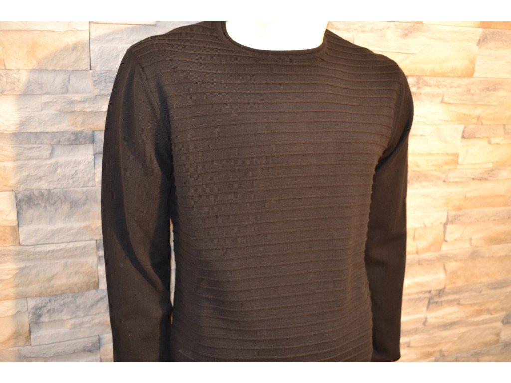 Pánský svetr SEMCO 18020 Black