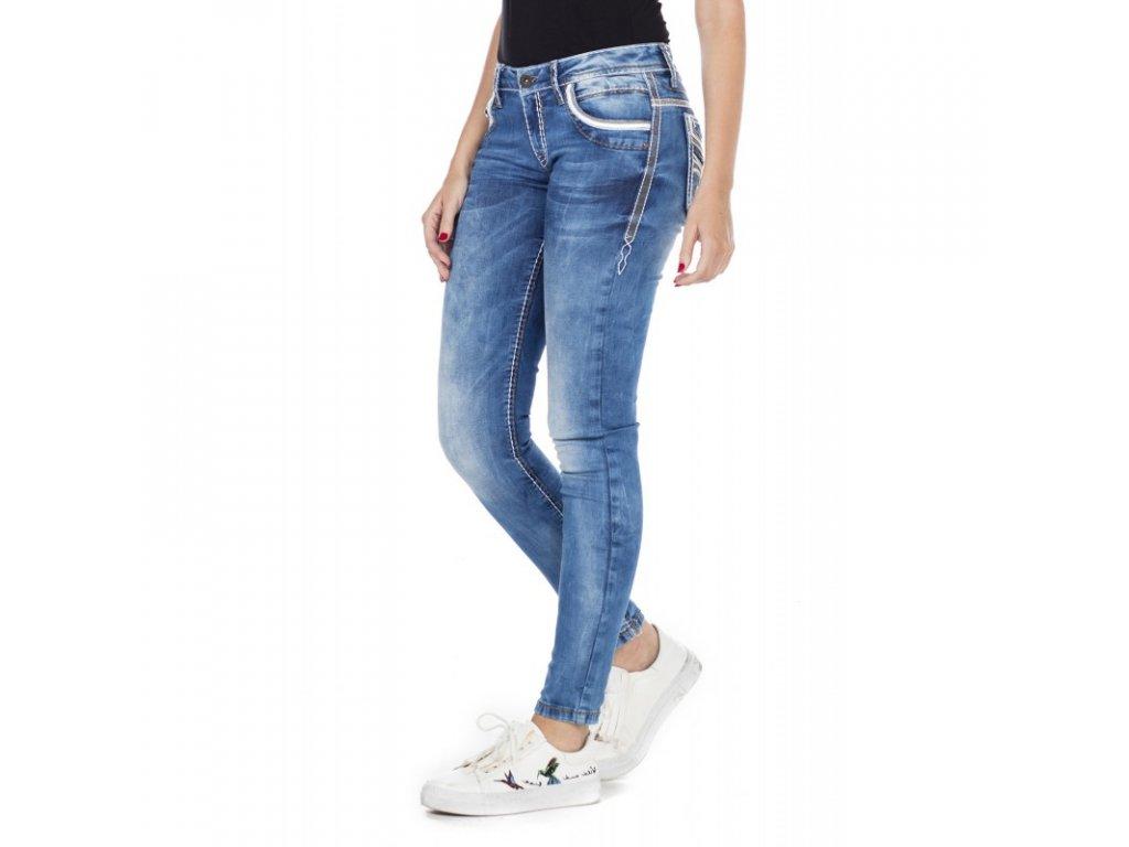 Dámské jeans CIPO & BAXX WD 343