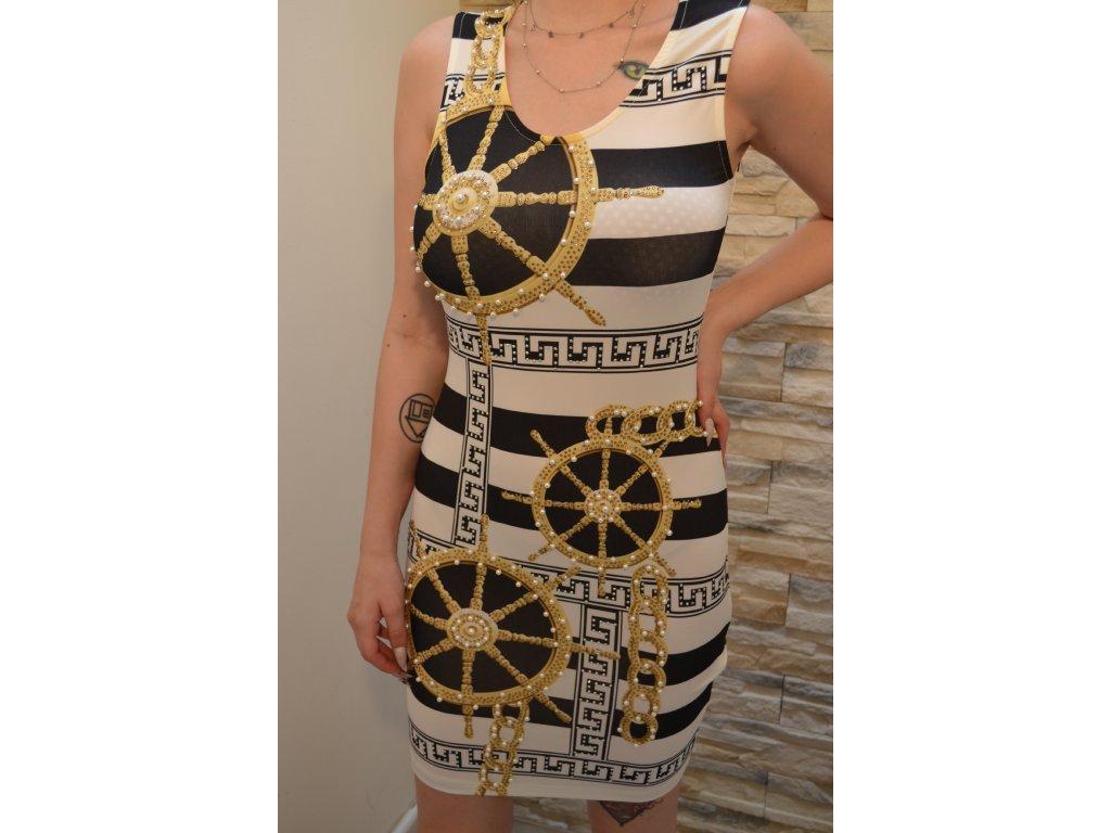 Dámské šaty Albicocche A50518