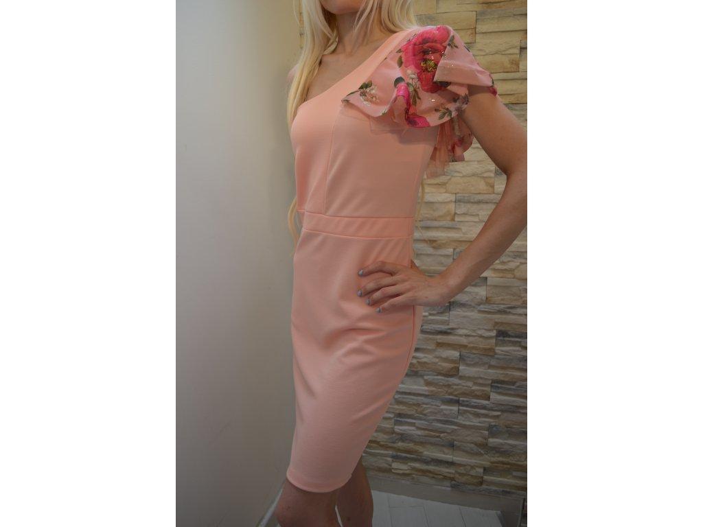 Dámské šaty VK Studio 03076 / růžové