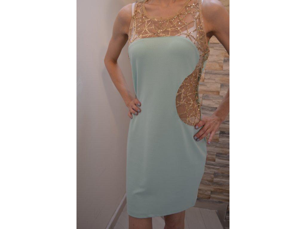 Dámské šaty VK Studio 02173 / mint