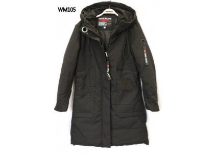 Dámský kabát CIPO & BAXX WM 105 Black
