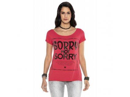 Dámské tričko CIPO & BAXX WT 282 Pink