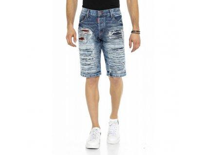 Pánské capri kalhoty CIPO & BAXX CK 219