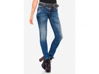 Dámské jeans CIPO & BAXX WD 379