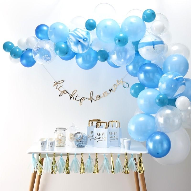 Candy bar modrá farba