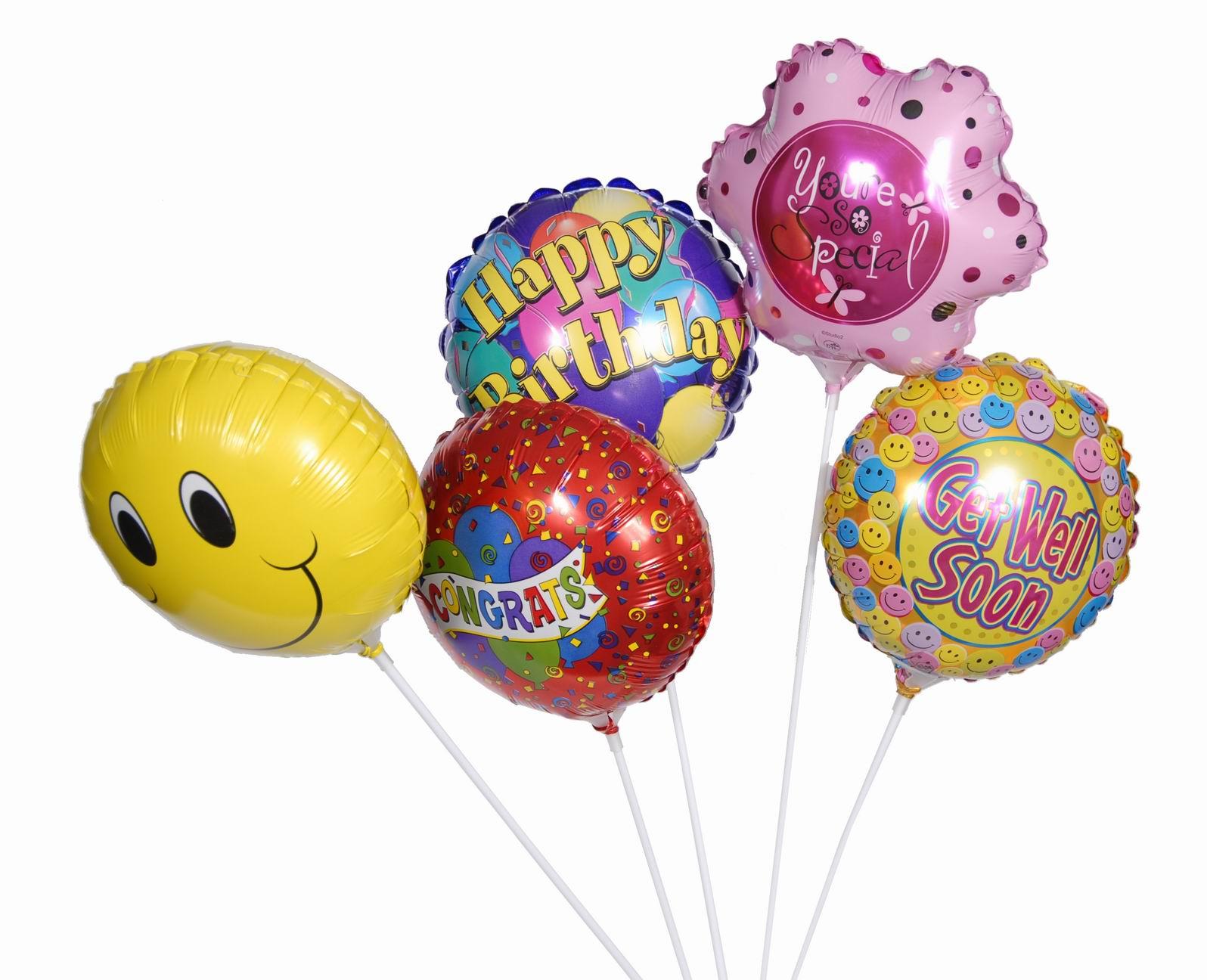 Fóliové balóny - palička