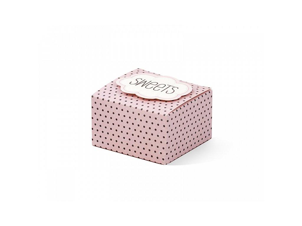 047875fe2 Produkt Papierové krabičky Sweet - Partybigstory.sk