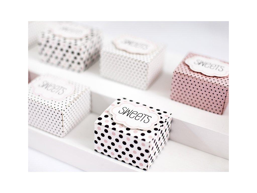 db086590e Produkt Papierové krabičky Sweet - Partybigstory.sk