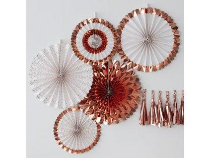 pm 339 rose gold fan decorations min