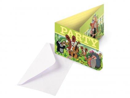 eng pl Little Mole Card Invites 8 pcs 32160 1