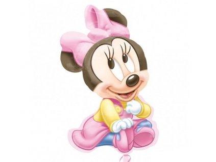 """Fóliový balón """"1"""" Happy Birthday Minnie 51x84cm"""