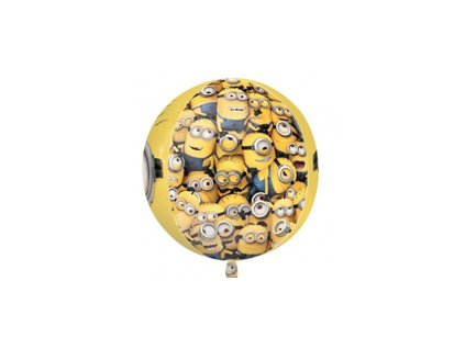Fóliový balón Mimoni 38x40cm