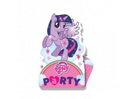 Pozvánky My Little Pony 8ks v balení